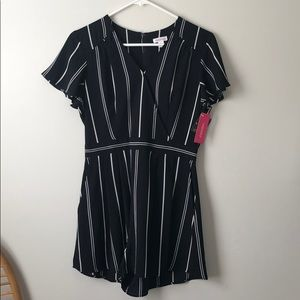 Xhilaration Striped Romper